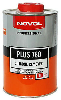 NOVOL Silicon Remover 1L +1L (Total 2pcs = 2L) Anti Silicon, Degreaser