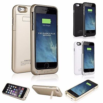 10000mAh For iPhone6 Plus External Battery Backup Charging Bank Power Case Cover