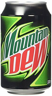 Mountain Dew 330 ml Pack of 24