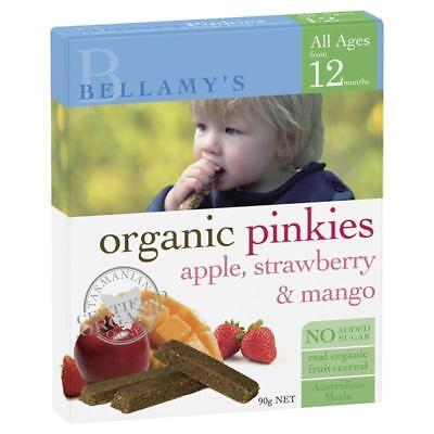 Bellamy Organics Pinkies Apple Strawberry And Mango