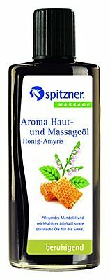 Honey & Amyris Aromatic Oil 190 ml from Spitzner
