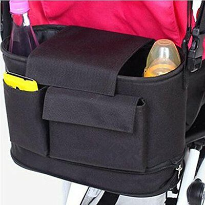 Stroller Organizer Bag - Water Resistance Universal Fit for All Baby Strollers -