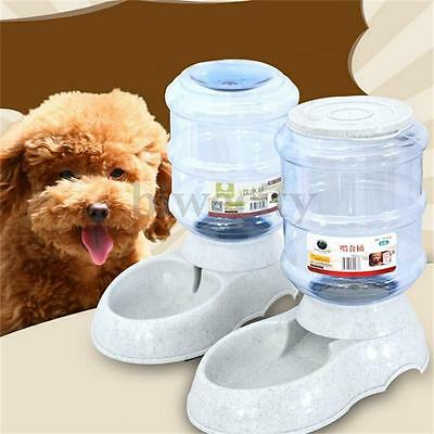 3.5L Liters Large Dogs Automatic Feeder Pet Dog Cat Water Drinker Dispenser Bowl