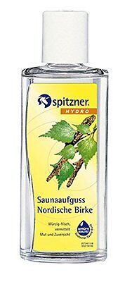 Nordic Birch Sauna Infusion 2 x 190 ml from Spitzner