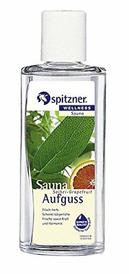 Sage & Grapefruit Sauna Infusion 2 x 190 ml from Spitzner