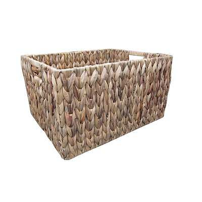 Water Hyacinth Storage Basket / Box - X Large To Small