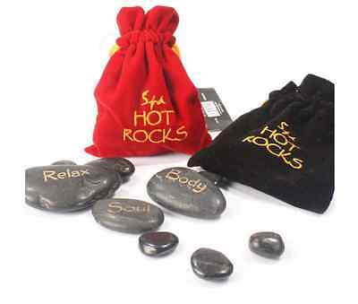 SPA Hot Rocks - Relaxing Stone Massage - Relieve Stress And Improve Circulation