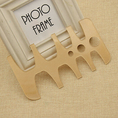 Template Board DIY Belt Tail Round Hole Making Shapeing Tool Hand Craft Acrylic