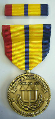 Navy Marine Corps Combat Action  Commemorative Medal Avec Ribbon