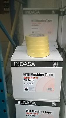 Masking Tape Indasa MTE 18mm 48 Rolls Low Bake
