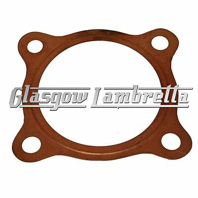 Vespa / LML 2 x COPPER CYLINDER HEAD GASKETS for PX 125/150 & LML Scooters etc