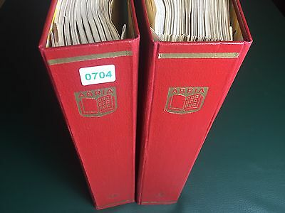 CSSR Collection 1918/1989 in 2 Abria Albums / Print together / many Sheetlets