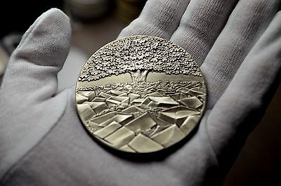 LARGE  5oz STERLING SILVER 2004 Royal Mint British MEDAL CHOICE IS OURS RARE