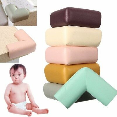 4Pcs Baby Safety Table Desk Edge Cover Corner With Tape Cushion Guard Softener