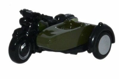 Oxford Motorcycle and Sidecar 34th Armoured Brigade SCALA N NBS005