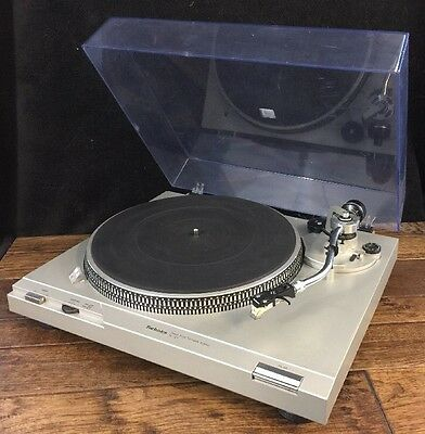 Technics Direct Drive Turntable SL-D1 With Ortofon Cart Working See Video Demo