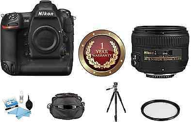 Nikon D5 DSLR Digital Camera (Dual XQD Slots) W/ 50mm f/1.4G Lens BUNDLE!
