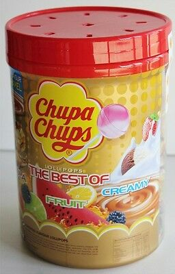 Chupa Chups 100 Best Of Lollipops Assorted Flavours Lollipop Candy Bulk Treats