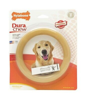 Nylabone DuraChew Ring Original Flavor Blister Card Durable Dog Chew Toy Giant