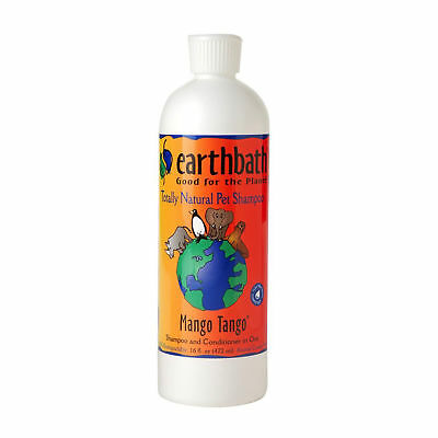EarthBath All Natural Mango Tango Shampoo Conditioner for Dogs Cats 16 oz