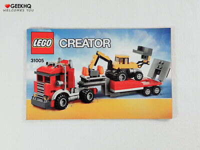 LEGO Creator #31005 Instructions Manual ONLY