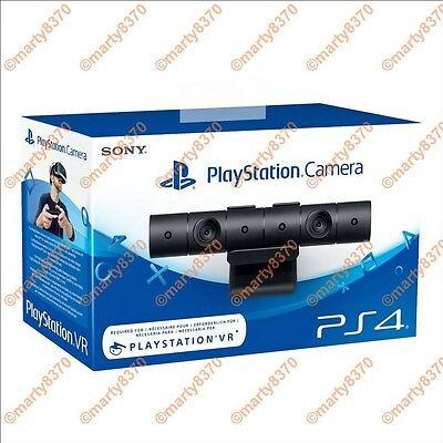 Official New Sony PS4 PlayStation 4 Eye Camera V2 Black PSVR UK(BNIB)
