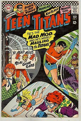 Teen Titans #7, #8, and #9 VG