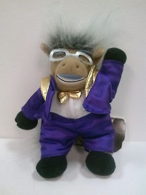 Donkeyng (Don King) Meanie Babies Infamous Series Plush Doll