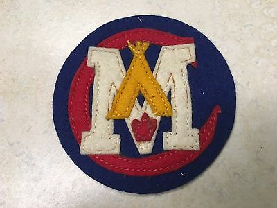 Central Indiana Council Felt Firecrafter Minisino Camp Patch
