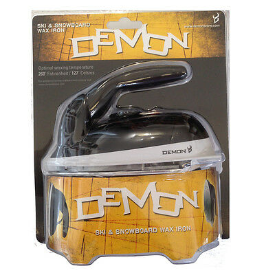 Demon Mini Ski & Snowboard Waxing Iron - Temp & Voltage adjustable