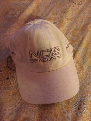 Ncis Season 12 Camera Department Hat - Very Collectible
