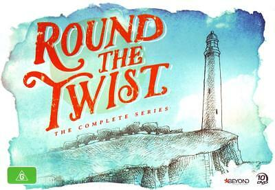 ROUND THE TWIST Complete Season Series 1 2 3 & 4 Collection Box Set NEW DVD R4