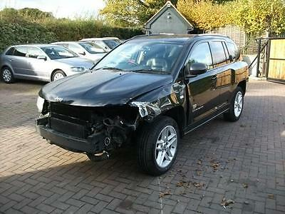 2011 Jeep Compass 2.2CRD 161bhp 4WD 70th Anniversary SALVAGE DAMAGED REPAIRABLE