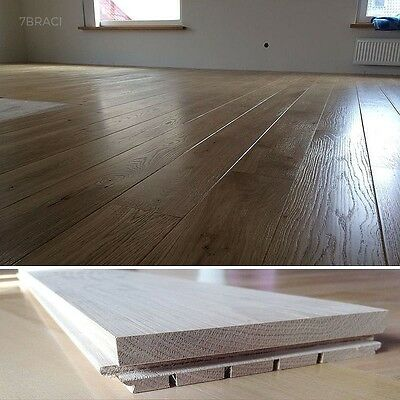 150mm wide Solid Oak Strip Flooring - FSC Made and Sourced in Europe S21A21S