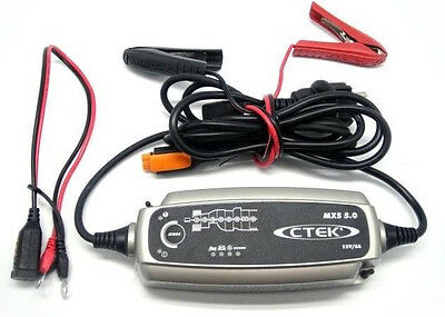 CTEK MXS 5.0 lead-acid Battery Charger 8 step fully automatic charging cycle