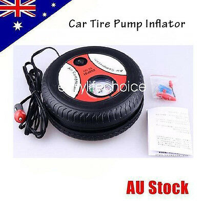NEW 260PSI Portable Air Compressor Pressure Tyre Pump Car Truck Motorcycle Bike