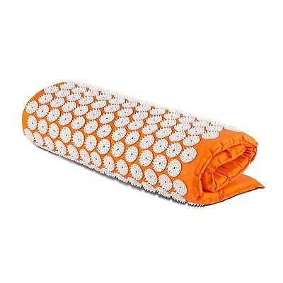 Capital Sports Repose ━ Tapis Massage Yantra Acupression Mousse 80 X 50Cm Orange