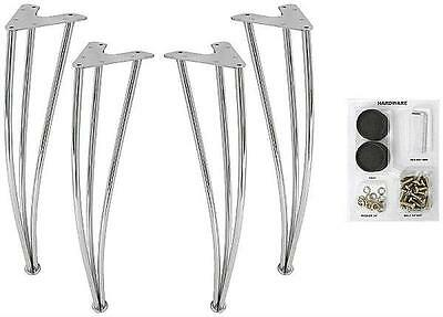 NEW Dorel Home Products Metal Legs For Bentwood Round Table