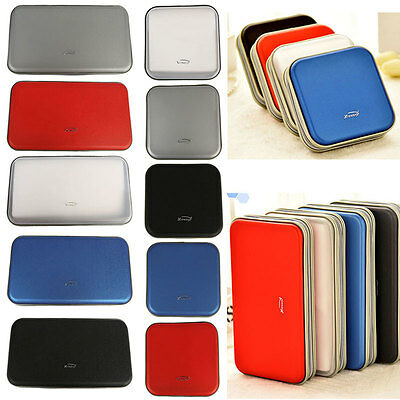 40/80 Disc CD DVD Portable Storage Case Cover Wallet Hard Box Bag Holder AU