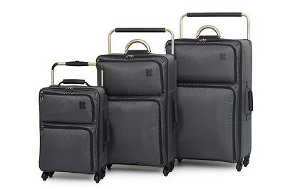 IT World's Lightest Ultra Lightweight Four Wheel Spinner Luggage