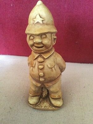 Small Composition Figure Of A Laughing British Policeman