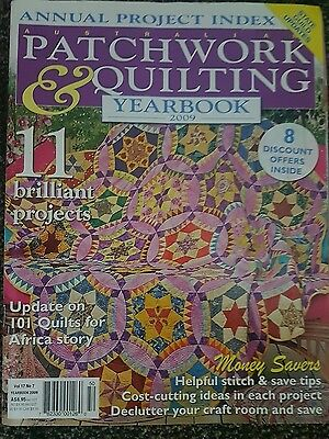 Australian Patchwork & Quilting Magazine 17 No 7 Year Book Special
