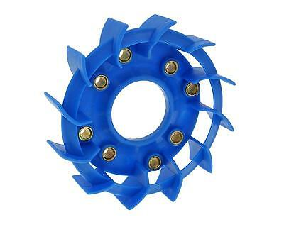 cooling fan Naraku Racing blue for Kymco, Baotian, GY6 50, 139QMB