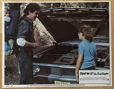 Friday the 13th: The Final Chapter Part IV 1984 # 5 lobby card photo poster 567