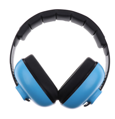Blue Kids Childs Baby Ear Muff Defenders Noise Reduction Comfort Protection