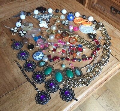 Job Lot Costume Jewellery From House Clearance