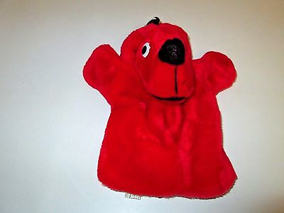 Clifford the Big Red Dog Plush Hand Puppet 9""