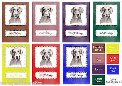 Doberman Dog Show 2017 A5 Week Per View Diary by Curiosity Crafts