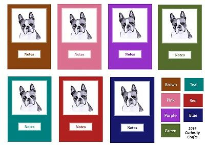 Boston Terrier Notebook by Curiosity Crafts