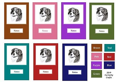 Bernese Mountain Dog Notebook by Curiosity Crafts